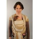 Une écharpe de portage Néobulle tissée en France dans du coton naturel et en promo !